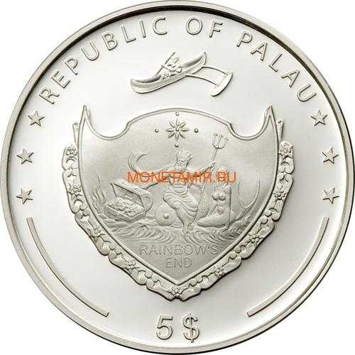 Палау 5 долларов 2006 Вулкан (Palau 5$ 2006 Volcano).Арт.000119710656 (фото, вид 1)