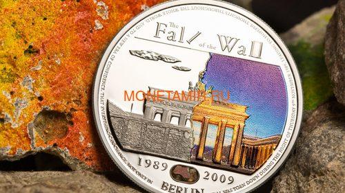 Палау 5 долларов 2009 Падение Берлинской стены.Арт.60 (фото, вид 2)