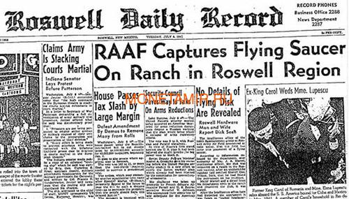 Ниуэ 2 доллара 2017 Розуэлльский инцидент НЛО (Niue 2$ 2017 70Y Roswell UFO Incident).Арт.60 (фото, вид 8)