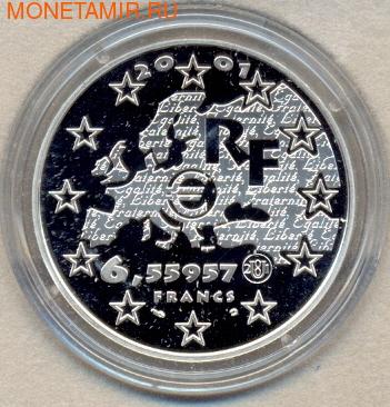 Франция 6,55957 франков 2001. Братство (фото, вид 1)
