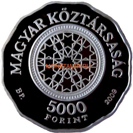 Венгрия 5000 форинтов 2009 Большая Синагога в Будапеште (Hungary 5000 Forint 2009 Grand Synagogue of Budapest Proof).Арт.000172655072/60 (фото, вид 1)