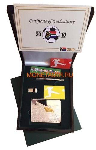Либерия 50 долларов 2010 Футбол ФИФА Чемпионат Мира Южная Африка 2010 Стадион Флаги (Liberia 50$ 2010 FIFA World Cup in South Africa 2010 Stadium Flags).Арт.004164536538/60 (фото, вид 2)