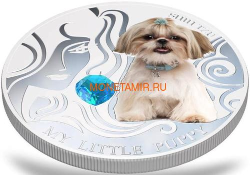 Фиджи 2 доллара 2013 Ши-Тцу – Мой маленький щенок серия Собаки и Кошки (Fiji 2$ 2013 Dog My little Puppy Shi Tzu Dogs and Cats).Арт.000405648990/60 (фото, вид 2)