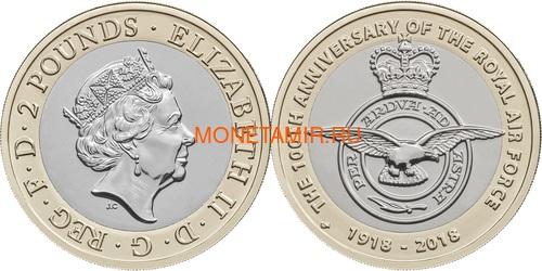 Великобритания Полный годовой набор 2018 (The 2018 UK Brilliant Uncirculated Annual Coin Set).Арт.60 (фото, вид 4)