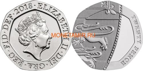 Великобритания Полный годовой набор 2018 (The 2018 UK Brilliant Uncirculated Annual Coin Set).Арт.60 (фото, вид 10)