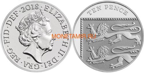 Великобритания Полный годовой набор 2018 (The 2018 UK Brilliant Uncirculated Annual Coin Set).Арт.60 (фото, вид 11)