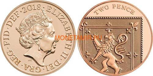 Великобритания Полный годовой набор 2018 (The 2018 UK Brilliant Uncirculated Annual Coin Set).Арт.60 (фото, вид 13)