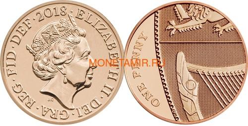 Великобритания Полный годовой набор 2018 (The 2018 UK Brilliant Uncirculated Annual Coin Set).Арт.60 (фото, вид 14)
