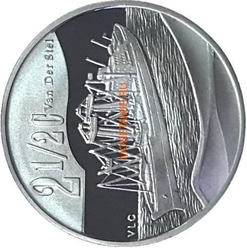 Южная Африка 2 ранда + 2,5 цента 2011 Корабль Королева Мария 2 Набор из двух монет (Silver Proof Combo Set R2 and 2,5c 2011 South Africa Maritime History The Queen Mary 2 аnd SA Van Der Stel).Арт.001298036388/60 (фото, вид 3)