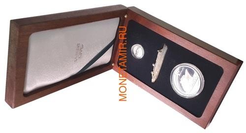 Южная Африка 2 ранда + 2,5 цента 2011 Корабль Королева Мария 2 Набор из двух монет (Silver Proof Combo Set R2 and 2,5c 2011 South Africa Maritime History The Queen Mary 2 аnd SA Van Der Stel).Арт.001298036388/60 (фото, вид 6)