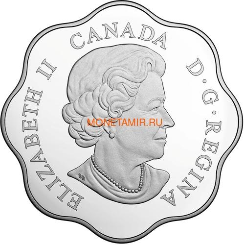 Канада 20 долларов 2017 Лесной Волк Эксклюзивная серия Мастер Клуб (Лотос) Canada 20$ 2017 EXCLUSIVE Masters Club Coin Series Timber Wolf.Арт.60 (фото, вид 1)
