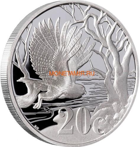 Южная Африка 20 центов 2012 Сова – Парки Мира (South Africa 20c 2012 Peace Parks Great Mapungubwe Fishing Owl).Арт.000593539169/60 (фото, вид 1)