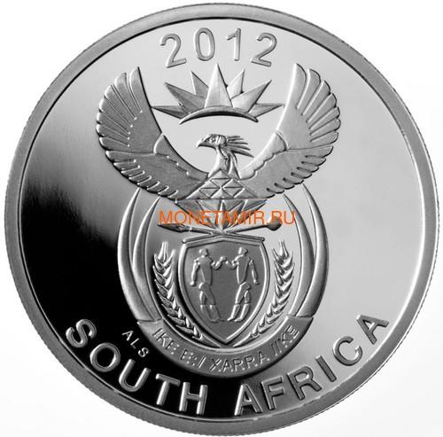 Южная Африка 20 центов 2012 Сова – Парки Мира (South Africa 20c 2012 Peace Parks Great Mapungubwe Fishing Owl).Арт.000593539169/60 (фото, вид 2)