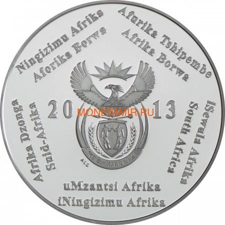 Южная Африка 2 ранда + 2,5 цента 2013 Дизель-Электровоз – Поезда Южной Африки Набор из двух монет (Silver Proof Combo Set R2 and 2,5c 2013 South Africa Trains of South Africa Diesel Electric Locomotives).Арт.000908444873/60 (фото, вид 2)