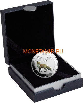 Ниуэ 1 доллар 2016 Лиса (Niue 1$ 2016 Fox Nature Symbols).Арт.60 (фото, вид 2)