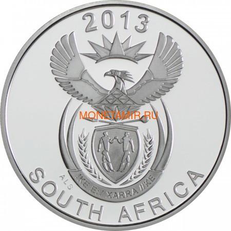 Южная Африка 85 центов 2013 Крылатка Черепаха Латимерия Рыба Клоун Морские животные Охрана морских территорий Набор 4 монеты (South Africa 85c 2013 Marine Areas 4 coin Prestige Set).Арт.002201444026/60 (фото, вид 5)