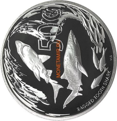 Южная Африка 85 центов 2014 Акулы Дельфины Black Musselcracker Аммонит Морские животные Охрана морских территорий Набор 4 монеты (South Africa 85c 2014 Marine Areas 4 coin Prestige Set).Арт.002073850461/60 (фото, вид 1)