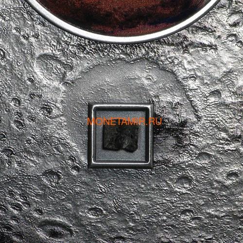 Острова Кука 20 долларов 2017 Метеорит Марс Красная Планета (2017 Cook Islands 3 oz Silver Meteorites Mars Red Planet).Арт.60 (фото, вид 2)