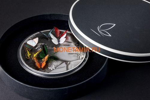 Палау 20 долларов 2018 Экзотические Бабочки 3D (Palau 20$ 2018 Exotic Butterflies Dream Edition 3D).Арт.60 (фото, вид 4)