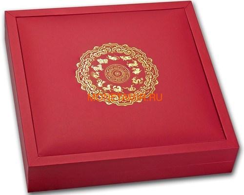 Лаос 2000 кип 2012 Год Дракона Лунный календарь Нефрит (Laos 2000K 2012 Lunar Dragon Jade).Арт.000552336880/60 (фото, вид 2)