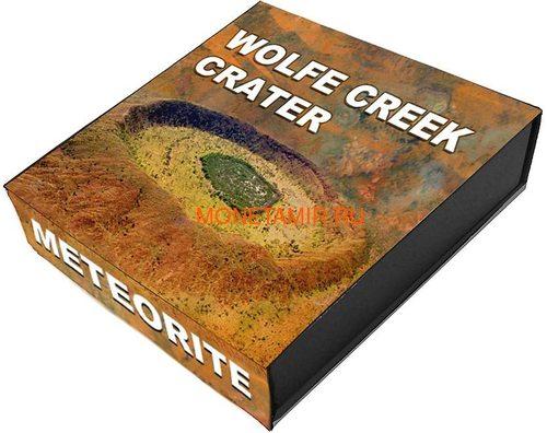 Ниуэ 1 доллар 2015 Метеорит Вулф Крик (Wolfe Creek).Арт.60 (фото, вид 3)