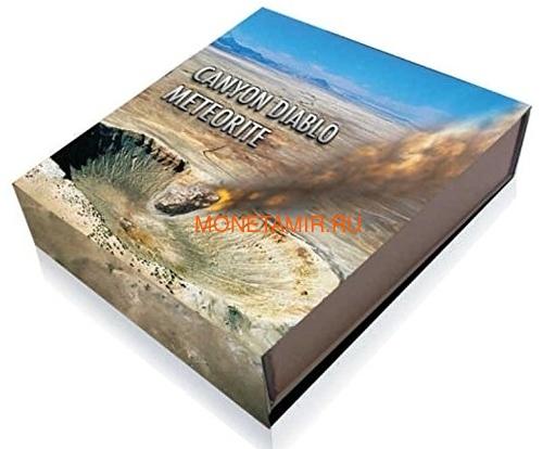 Ниуэ 1 доллар 2014 Метеорит Каньон Дьябло Canyon Diablo.Арт.000395047331 (фото, вид 2)