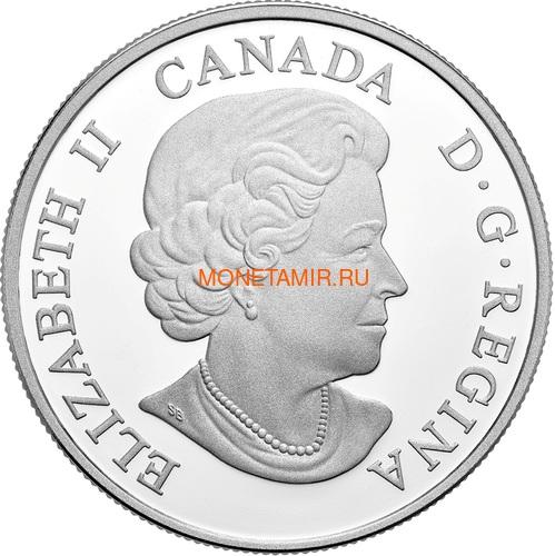 Канада 20 долларов 2018 Пума Величественные Животные (Canada 20C$ 2018 Courageous Cougar).Арт.000441155503/60 (фото, вид 1)