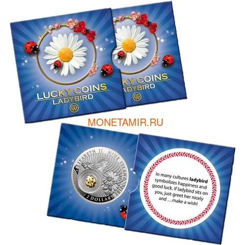 Ниуэ 2 доллара 2012 Божья Коровка Монеты на Удачу (Niue 2$ 2012 Lucky Coin Ladybug).Арт.000330349045/60 (фото, вид 2)