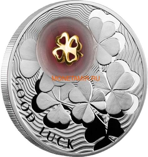 Ниуэ 2 доллара 2012 Клевер Монеты на Удачу (Niue 2$ 2012 Lucky Coin Clover).Арт.000330349049/60 (фото, вид 1)