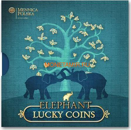 Ниуэ 2 доллара 2013 Слон Монеты на Удачу (Niue 2$ 2013 Lucky Coin Elephant GPL).Арт.000330349043/60 (фото, вид 2)