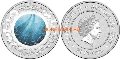 Австралия 13,88 долларов 2017 Планеты Солнечной Системы Космос Набор 10 монет (Australia 13,88$ 2017 Sollar System Space 10-coin Set).Арт.000862855467/60 (фото, вид 7)
