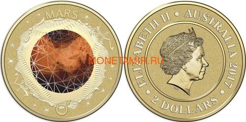 Австралия 13,88 долларов 2017 Планеты Солнечной Системы Космос Набор 10 монет (Australia 13,88$ 2017 Sollar System Space 10-coin Set).Арт.000862855467/60 (фото, вид 10)