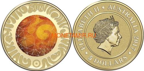 Австралия 13,88 долларов 2017 Планеты Солнечной Системы Космос Набор 10 монет (Australia 13,88$ 2017 Sollar System Space 10-coin Set).Арт.000862855467/60 (фото, вид 11)