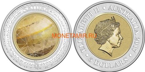 Австралия 13,88 долларов 2017 Планеты Солнечной Системы Космос Набор 10 монет (Australia 13,88$ 2017 Sollar System Space 10-coin Set).Арт.000862855467/60 (фото, вид 12)