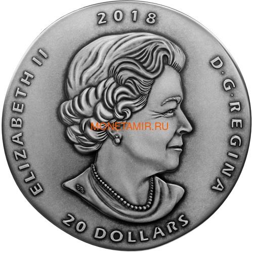 Канада 20 долларов 2018 Маррелла Древняя Канада (Canada 20C$ 2018 Ancient Canada Marrella).Арт.60 (фото, вид 1)