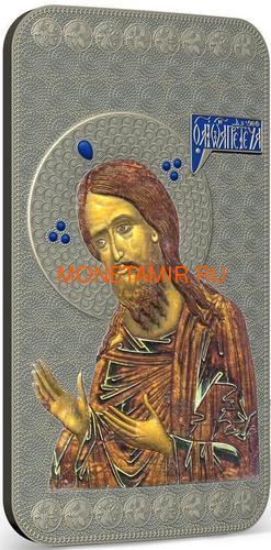 Ниуэ 2 доллара 2014 Икона Святой Иоанн Креститель серия Православные Святыни (Oxidized).Арт.000463649022 (фото, вид 1)