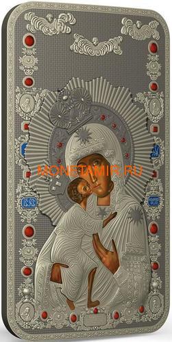 Ниуэ 2 доллара 2013 Феодоровская Икона Божией Матери серия Православные Святыни (Oxidized).Арт.000463649025 (фото, вид 1)