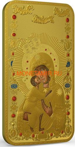 Ниуэ 2 доллара 2014 Феодоровская Икона Божией Матери серия Православные Святыни (Позолота).Арт.000463649028 (фото, вид 1)