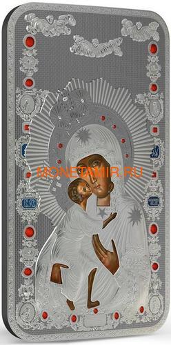 Ниуэ 2 доллара 2014 Феодоровская Икона Божией Матери серия Православные Святыни.Арт.000463649024 (фото, вид 1)