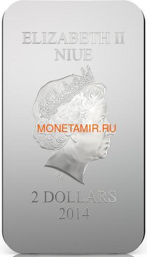 Ниуэ 2 доллара 2014 Феодоровская Икона Божией Матери серия Православные Святыни.Арт.000463649024 (фото, вид 3)