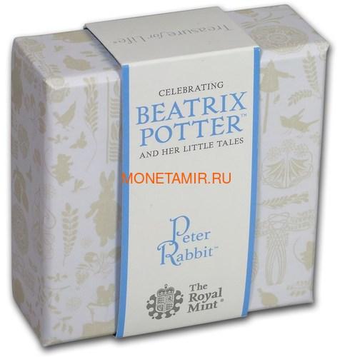 Великобритания 50 пенсов 2018 Кролик Питер Персонажи Беатрис Поттер (UK 50 pence 2018 Peter Rabbit Beatrix Potter Silver).Арт.60 (фото, вид 5)