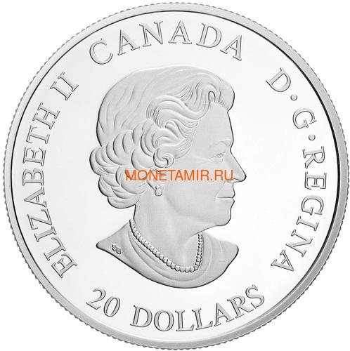 Канада 20 долларов 2018 Северная Ярость Корабли Викингов (Canada 20C$ 2018 Viking Ships Northern Fury).Арт.60 (фото, вид 1)