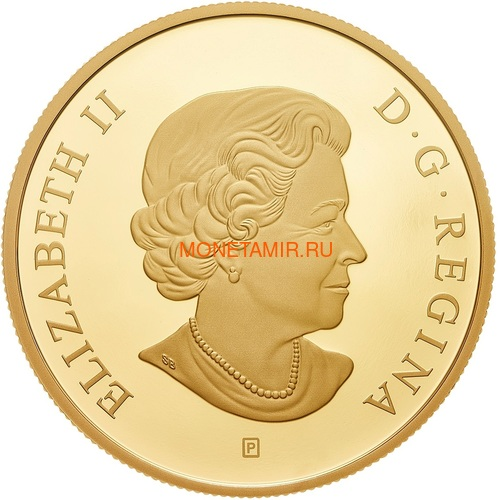 Канада 30 долларов 2018 Корабль Резолюшн (Canada 30$ 2018 HMS Resolution 2 oz Pure Silver Gold Plated).Арт.60 (фото, вид 1)