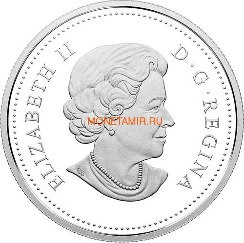Канада 2018 набор монет Капитан Кук Залив Нутка Корабль Медведь Утка Олень Бобр (Canada 2018 Special Edition Silver Dollar Proof Set 240th Anniversary of Captain Cook at Nootka Sound).Арт.60 (фото, вид 2)