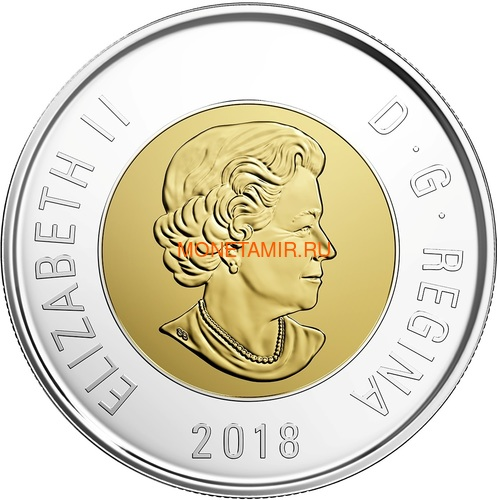 Канада 2018 набор монет Капитан Кук Залив Нутка Корабль Медведь Утка Олень Бобр (Canada 2018 Special Edition Silver Dollar Proof Set 240th Anniversary of Captain Cook at Nootka Sound).Арт.60 (фото, вид 4)