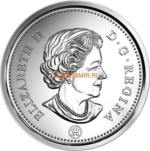 Канада 2018 набор монет Капитан Кук Залив Нутка Корабль Медведь Утка Олень Бобр (Canada 2018 Special Edition Silver Dollar Proof Set 240th Anniversary of Captain Cook at Nootka Sound).Арт.60 (фото, вид 10)