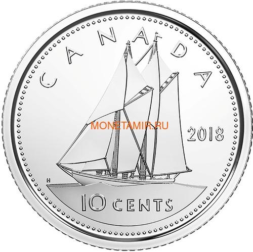 Канада 2018 набор монет Капитан Кук Залив Нутка Корабль Медведь Утка Олень Бобр (Canada 2018 Special Edition Silver Dollar Proof Set 240th Anniversary of Captain Cook at Nootka Sound).Арт.60 (фото, вид 11)