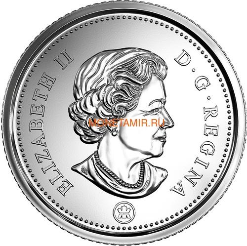 Канада 2018 набор монет Капитан Кук Залив Нутка Корабль Медведь Утка Олень Бобр (Canada 2018 Special Edition Silver Dollar Proof Set 240th Anniversary of Captain Cook at Nootka Sound).Арт.60 (фото, вид 12)