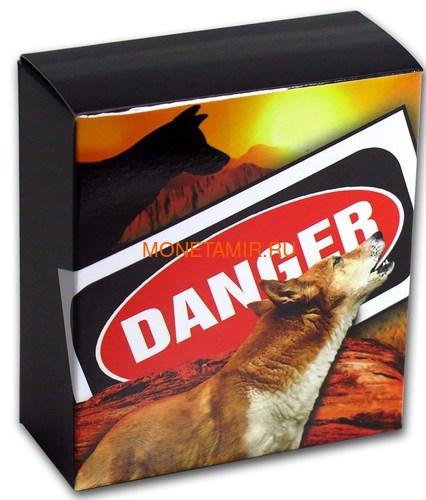 Тувалу 1 доллар 2018 Динго серия Смертельно Опасные (Tuvalu 1$ 2018 Deadly Dangerous Dingo).Арт.000403156171 (фото, вид 5)