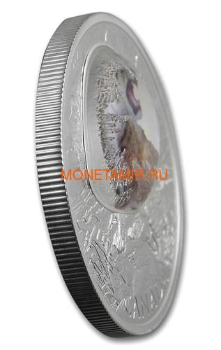Канада 20 долларов 2018 Саблезубый Тигр Замороженные во Льду (Canada 20C$ 2018 Frozen in Ice Scimitar Sabre-Tooth Cat Tiger).Арт.000480556116/63 (фото, вид 1)